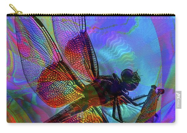 Carry-all Pouch featuring the digital art Natural Beauty I by Visual Artist Frank Bonilla