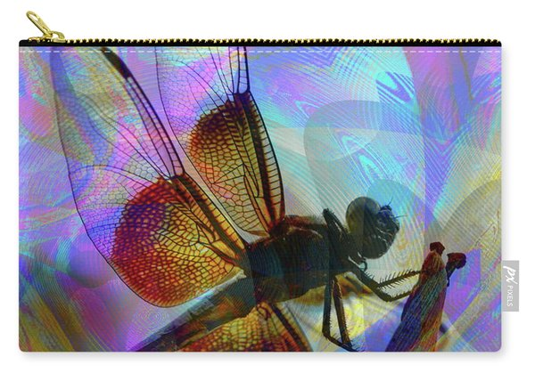 Carry-all Pouch featuring the digital art Natural Beauty II by Visual Artist Frank Bonilla