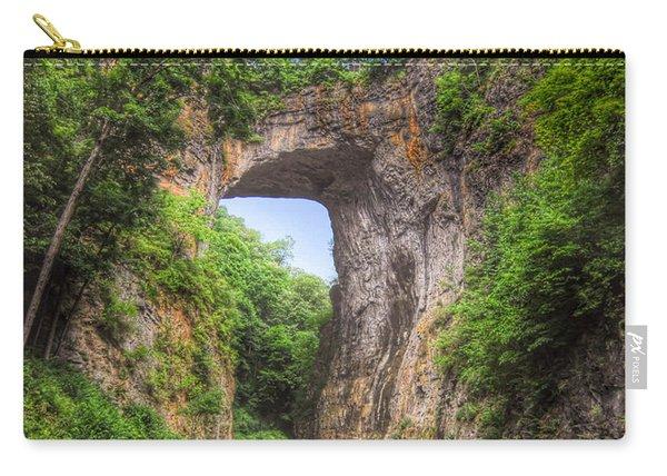 Natural Bridge - Virginia Landmark Carry-all Pouch