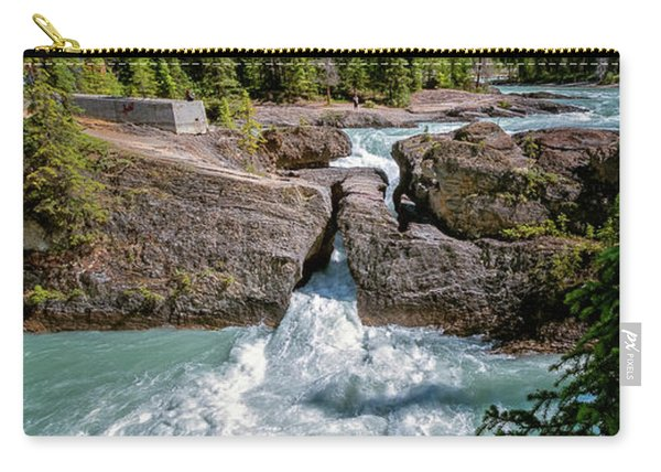 Natural Bridge Yoho National Park Canada Carry-all Pouch