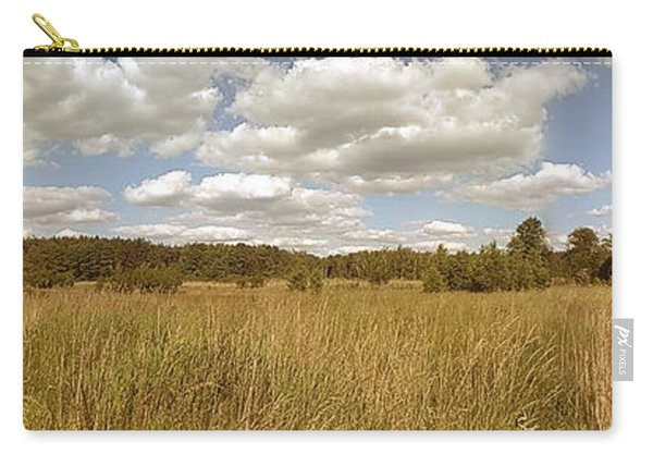 Natural Meadow Landscape Panorama. Carry-all Pouch
