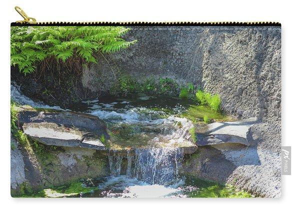 Carry-all Pouch featuring the photograph Natural Spa Zone by Raphael Lopez