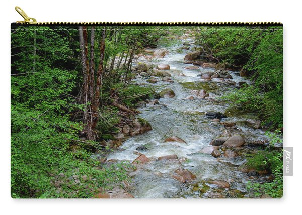 Naturally Pure Stream Backroad Discovery Carry-all Pouch