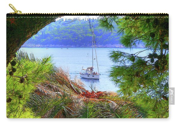 Nature Framed Boat Carry-all Pouch