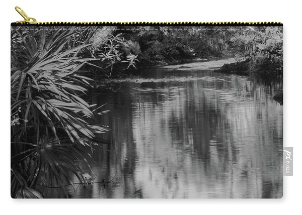 Nature In Black And White Carry-all Pouch