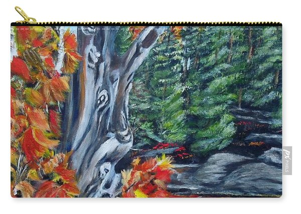 Natures Faces Carry-all Pouch