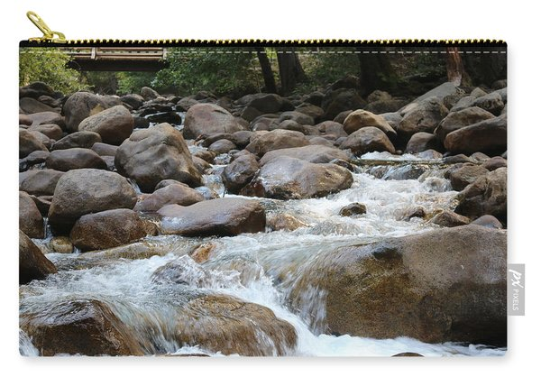 Carry-all Pouch featuring the photograph Nature's Flow - 3 by Christy Pooschke