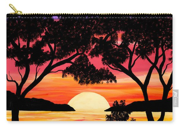 Nature's Gift - Ocean Sunset Carry-all Pouch