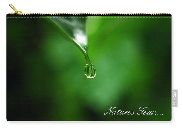 Natures Tear Carry-all Pouch