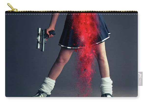 Naughty Schoolgirl Carry-all Pouch