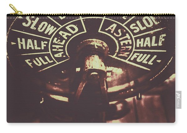 Nautical Engine Room Telegraph Carry-all Pouch
