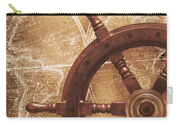 Nautical Exploration  Carry-all Pouch