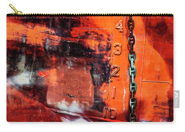 Nautical Industrial Art Again Carry-all Pouch