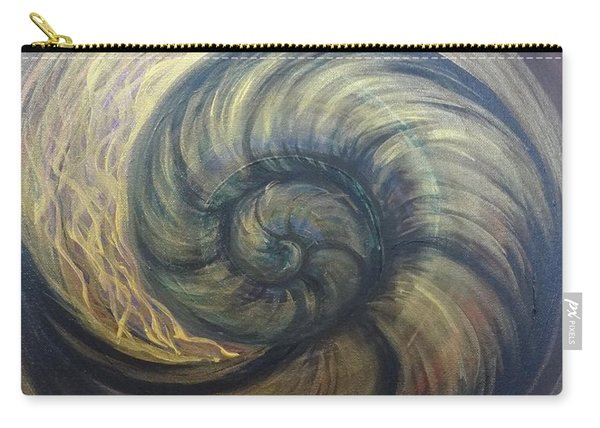 Nautilus Spiral Carry-all Pouch