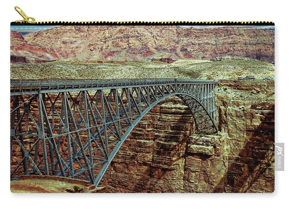 Navajo Bridge Carry-all Pouch
