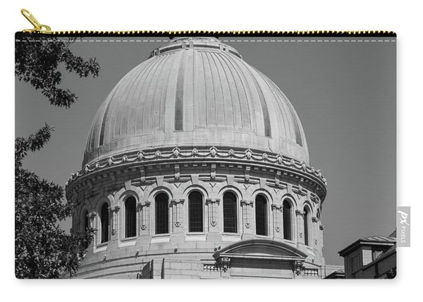 Naval Academy Chapel - Black And White Carry-all Pouch