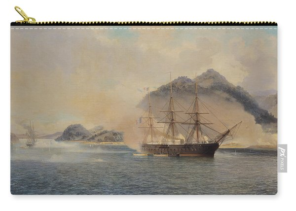 Naval Battle Of The Strait Of Shimonoseki Carry-all Pouch