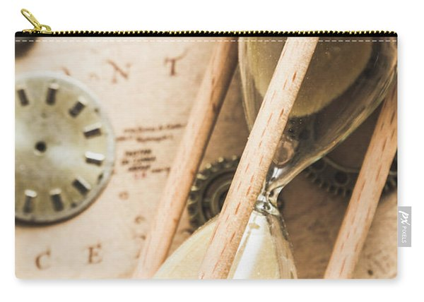 Navigating Vintage Time Carry-all Pouch
