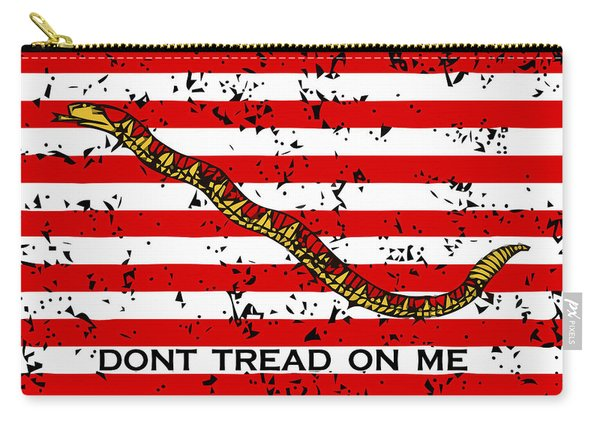 Navy Jack Flag - Don't Tread On Me Carry-all Pouch