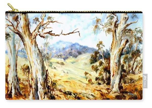 Carry-all Pouch featuring the painting Near Avoca by Ryn Shell