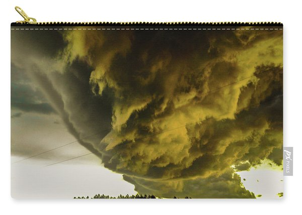 Nebraska Supercell, Arcus, Shelf Cloud, Remastered 018 Carry-all Pouch