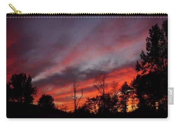 Neighborhood Sunset Carry-all Pouch