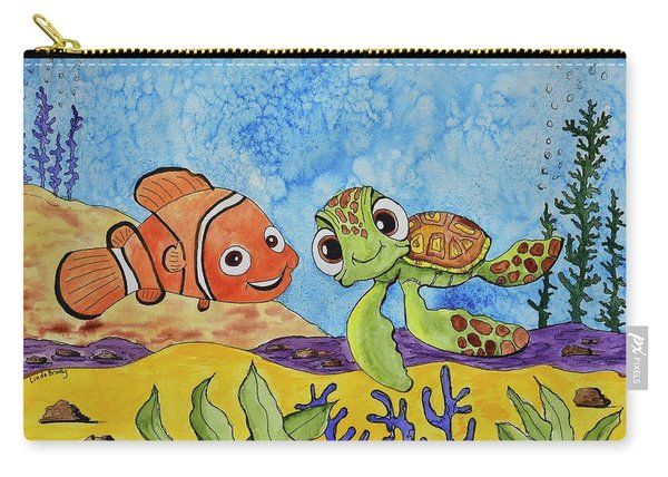 Nemo And Squirt Carry-all Pouch