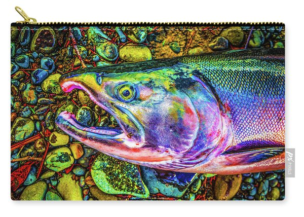 Neon Coho  Carry-all Pouch