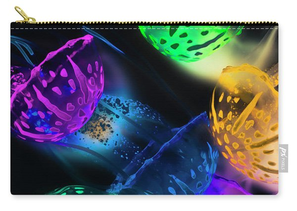 Neon Sea Life Carry-all Pouch