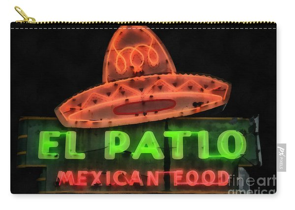 Neon Sign Series Mexican Food Austin Texas Carry-all Pouch