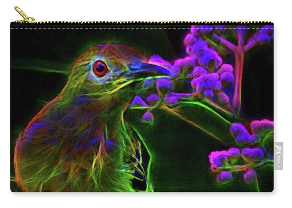 Neon Sunbird Carry-all Pouch