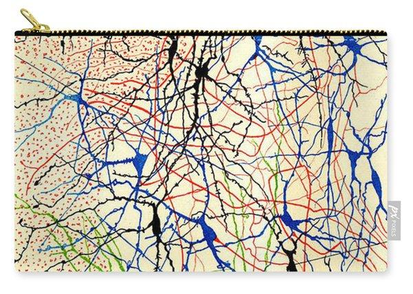 Nerve Cells Santiago Ramon Y Cajal Carry-all Pouch