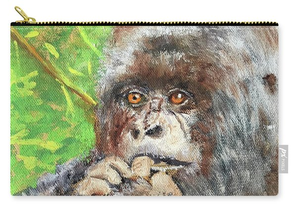 Nervous Mama Gorilla Carry-all Pouch