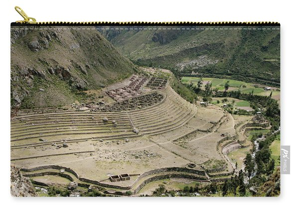 Nestled At The Foot Of A Mountain Carry-all Pouch