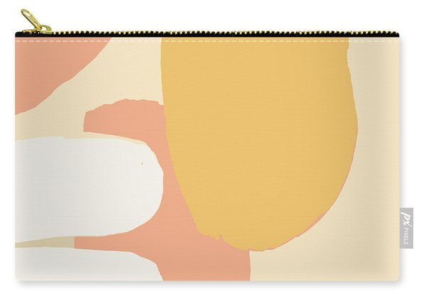 Neutral Abstract Carry-all Pouch