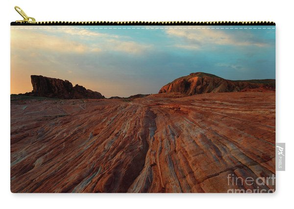 Nevada Sandstone Sunset Carry-all Pouch