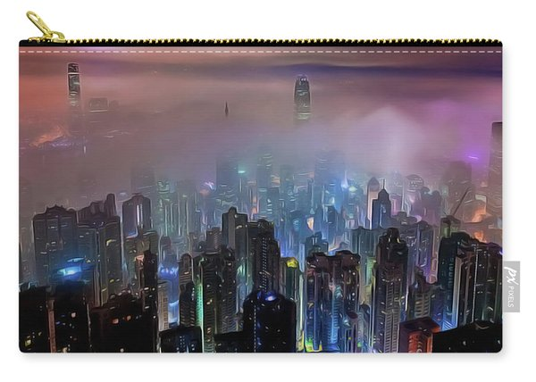 New City Skyline Carry-all Pouch