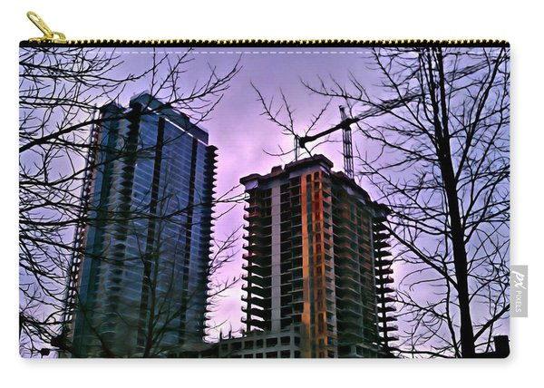 New Construction, Two Towers Carry-all Pouch