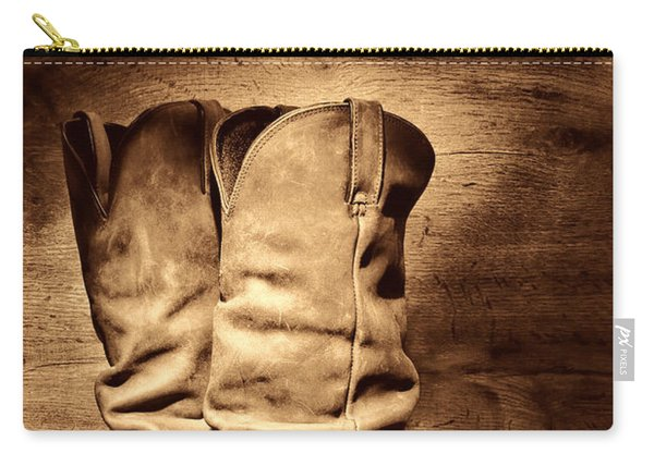 New Cowboy Boots Carry-all Pouch