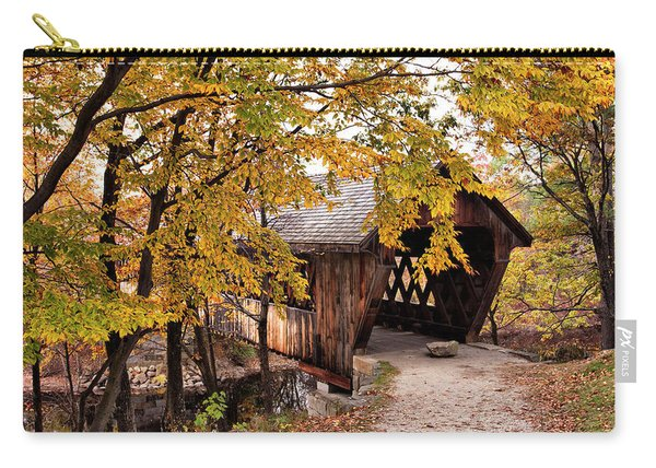 New England College No. 63 Covered Bridge  Carry-all Pouch
