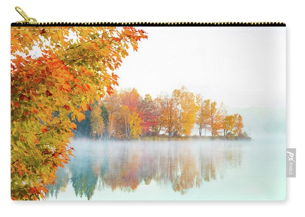 New England Fall Colors Of Maine Carry-all Pouch