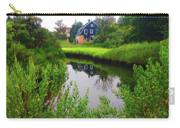 New England House And Stream Carry-all Pouch