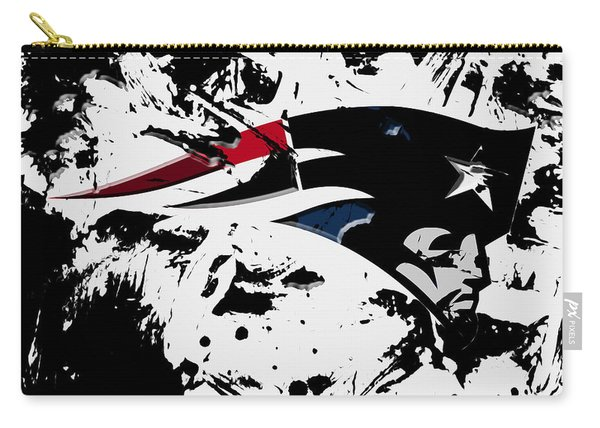 New England Patriots 1d Carry-all Pouch