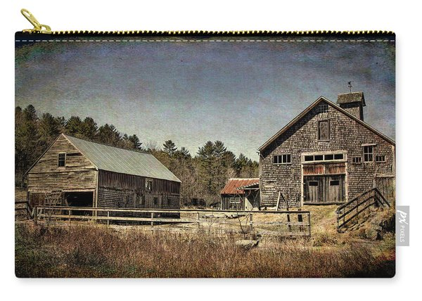 New Hampshire Old Barn  Carry-all Pouch