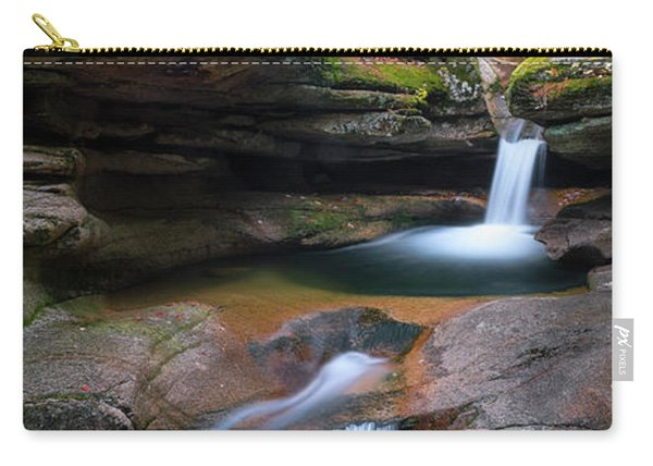 New Hampshire Sabbaday Falls Panorama Carry-all Pouch