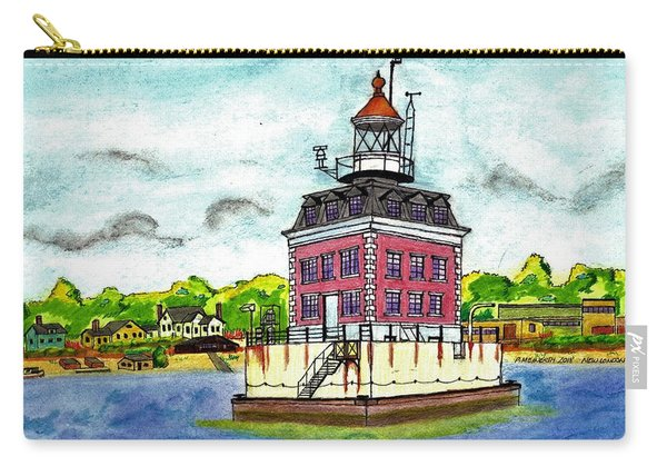 New Haven Lighthouse Carry-all Pouch