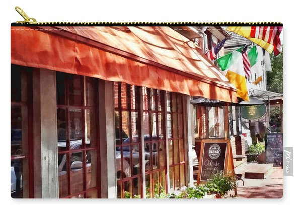 New Hope Pa - Outdoor Seating Now Open Carry-all Pouch