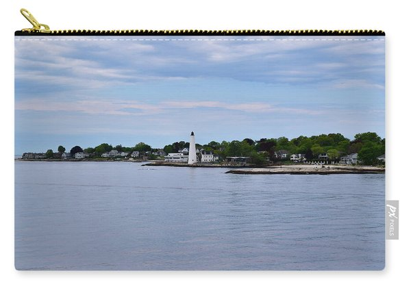 New London Harbor Lighthouse Carry-all Pouch