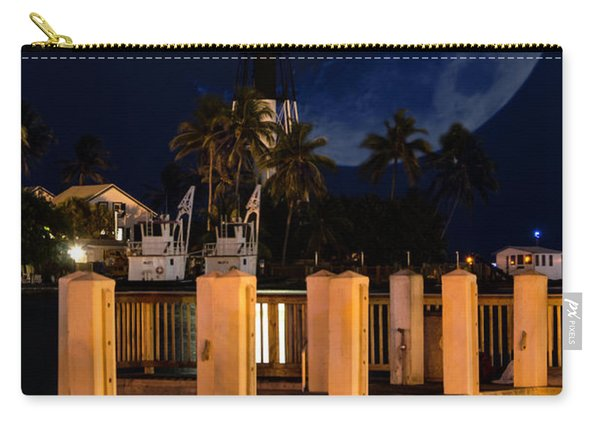 New Moon At Hillsboro Inlet Lighthouse Carry-all Pouch