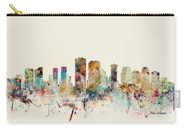 New Orleans City Skyline Carry-all Pouch